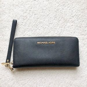 Authentic Black Michael Kors Wallet/Wristlet